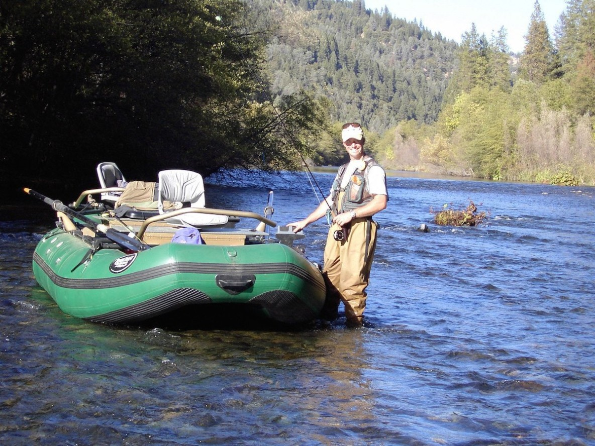 Drift boat 101 part two the basics fly fishing traditions for Drift boat fishing